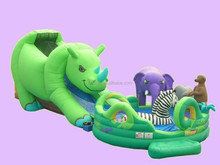 Yiwu Factory Wholesale High Quality Hippo Inflatable Water Slide