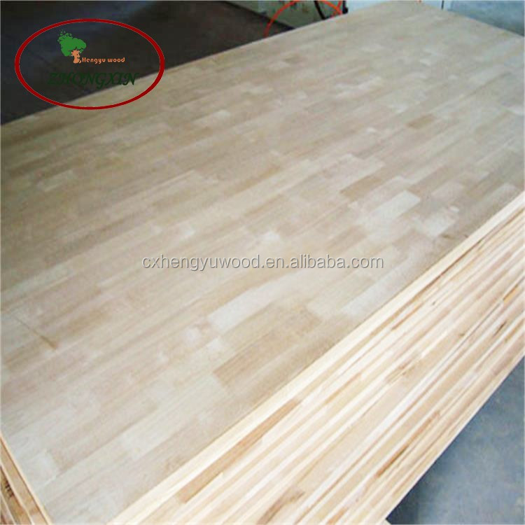 Furniture Wood Poplar Finger Joint Board Wood Finger Joint Panel