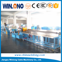Automatic power plug cable making machine