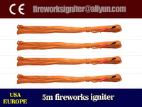 China fireworks electric igniter/5m electric match,500pcs/carton,CE passed fireworks igniter/wholesale fireworks igniter