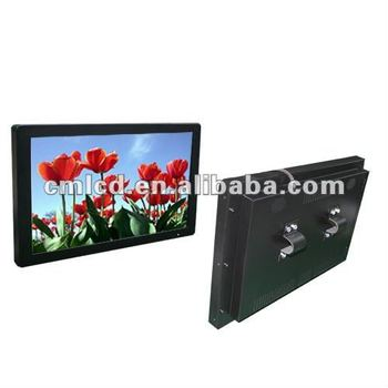 Advertising tv screens for bus 22 inch back fixing