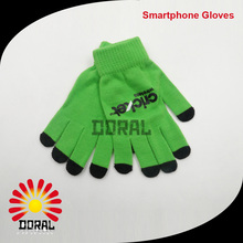Smartphone Knitting Gloves Plain Simple Design Winter Warm High Quality Glove China Manufacturer
