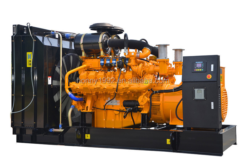 550kW Googol Diesel 30% Gas 70% Mixed Bio Fuel Generator set for oil field