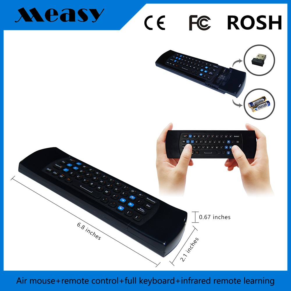 2.4G Wireless Mini Backlight free porn Air Mouse For Smart TV/Android TV Box/PS3/XBox fly mouse keyboard