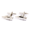Fancy cufflinks sliver pen head cufflinks