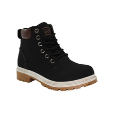 New autumn and winter men black thick bottom ankle boots