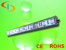 Made in China rgb led rigid strip 3.6w IP68 waterproof 15leds 5050 smd rigid rgb led strip