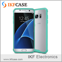 Wholesale High Quality TPU Soft Mobile Phone Cover Case HD Acrylic Case For Samsung Galaxy S7 Edge