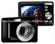 Digital Camera 6 Megapixel CCD With Face Tracking
