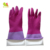 90g 2017 Winter Latex Coated Hair Washing Plastic Hand Gloves