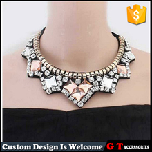Hot New Product for 2016 Trendy False Collar Necklace With Crystal Rhinestone, Popular Fashion Jewelry In China