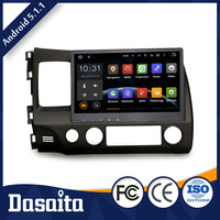 10.2 Inch 2 din 16GB 1GB Android car gps dvd player for honda