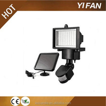 Solar motion sensor tripod stand SAA led rechargeable flood light