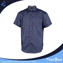 Modern design cheap fancy cotton mens shirts models