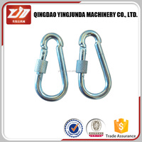 Fashion High Quality Metal Stainless Steel Spring Snap Hook Carabiner