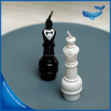 Chess shape candles, birthday thread candles, wedding party smoke-free candles