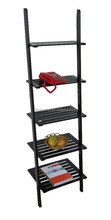 Hot Selling Wooden Rack Modern Display Ladder Shelf