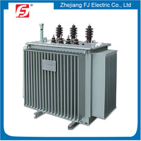 Freeze-proofing Oil Type Three Phase Step Down 6.6KV 400V Oil Filled Transformer Manufacturer In China
