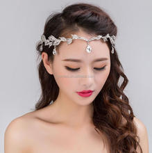 Pageant Crowns China party decoration party decoration bridal crown silver bride Tiaras
