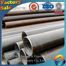 large diameter ASTM A53 sch40/schedule 40 seamless steel pipe manufacturers