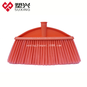 Factory plastic broom with S/S handle