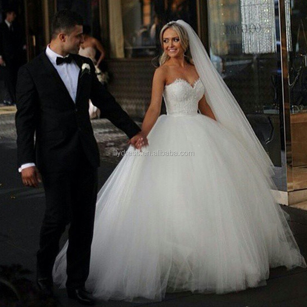 Celebrity Ball Gown Sweetheart Neckline Lace Custom Made Long Formal ...