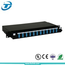 24 port Outdoor Fiber Optic Distribution Frame ODF price Patch Panel