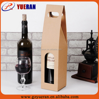 High quality cheap cardboard wine box, cheap wooden wine boxes
