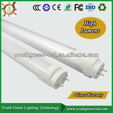 5Years Quality Guarantee CE Approved 4ft t8 tube led lighting industrial led light tube light 18w led circular tube