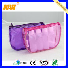 clear plastic cosmetic bag