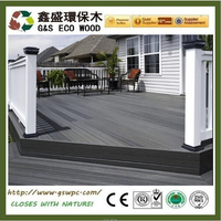 Good price wpc floor new design eco-friendly wood plastic composite roof tile