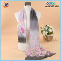 Hot wholesale Fashion scarf with floret printed