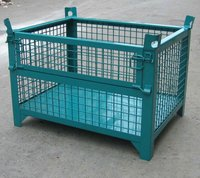 Heavy duty sellable good price Steel wire folding mesh Container