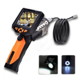 Small Snake recordable monitor flexible inspection camera