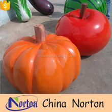 Agricultural products resin vegetable and fruit sculpture for Land decoration NT-FSD022