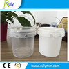 plastic food packaging------ square plastic bucket