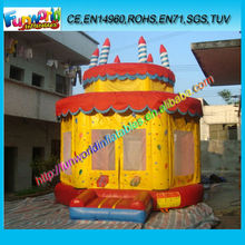 Inflatable Bouncer Castle Moonwalk Trampoline for Garden Games Outdoor Used (FUNBC1-032)