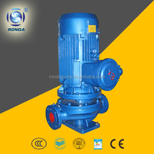 ISG explosion proof centrifugal vertical monoblock pump 2 inch inline water booster pump