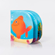 High Quality Wenzhou Manufacture Cute Gold Fish Baby Bath Book