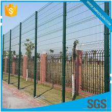 Temporary pvc coated anti climb temporary steel hog wire fence hot sale