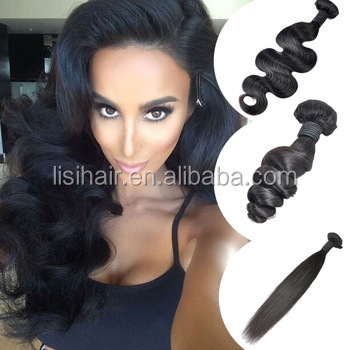 Alibaba New Fashion No Tangle No Shedding Best Price Unprocessed No Tangle No Shed Human Hair Weave