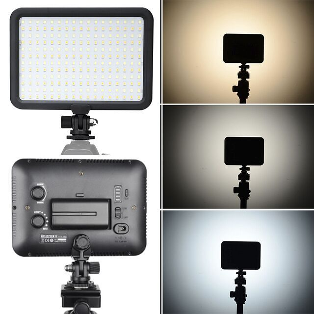Digipro 2014 the best professional photo studio light ,Camera Equipment lighting 204pcs video light