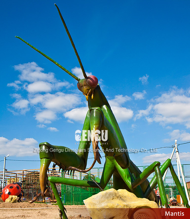 Outdoor electric insect model