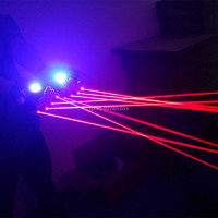 XPL-822R660AR50 APC 660nm 50mw red laser gloves