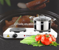 double burner 2000w electric stove parts for cooking cnzidel