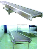Plast Link cheap Stainless Steel Wire Mesh Belts Conveyor / Eyeline Food Conveyor Belts