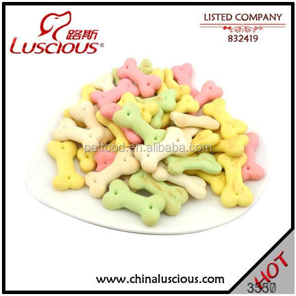 Four Colors Biscuit Cheap Natural Dog Food