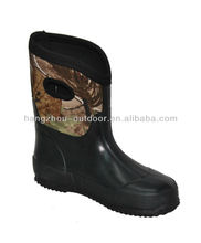 2014 Popular Camo Kids Neoprene Hunting Boots