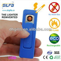 All plastic Crazy USB lighter for brand building,clip electric lighter