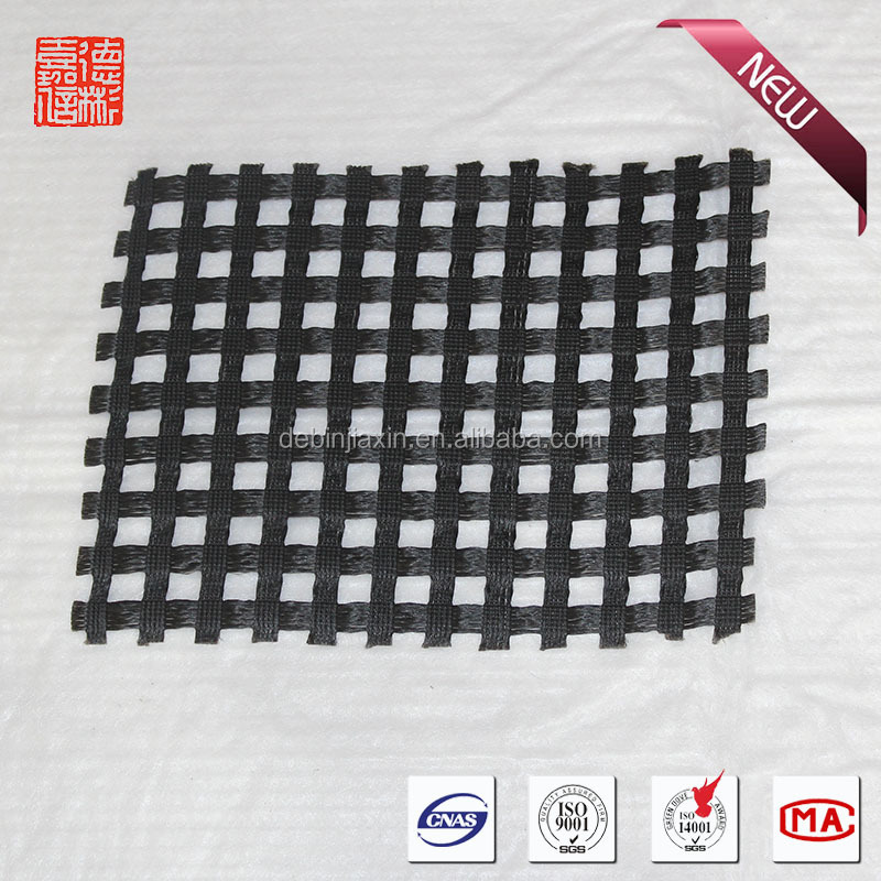 warp knitting polyester geogrid for mine safty support